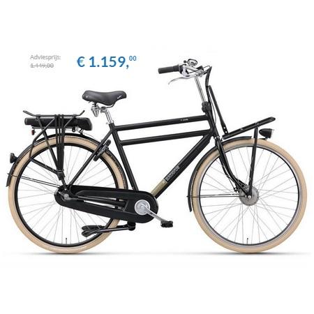 elektrische fiets batavus cnctd e go