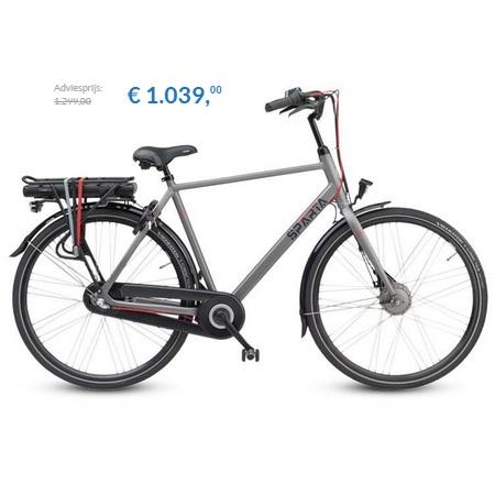 elektrische fiets sparta regular electric n3