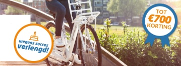 elektrische fietsen korting