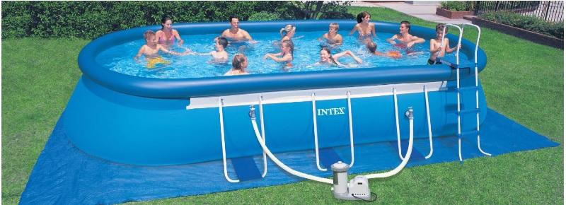 intex zwembad aanbieding