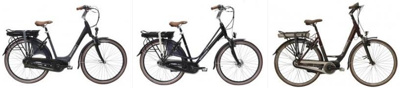 lage instap elektrische fiets