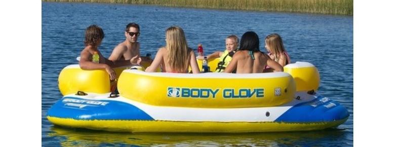 opblaasbaar eiland body glove