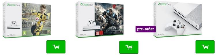 xbox one pakketten
