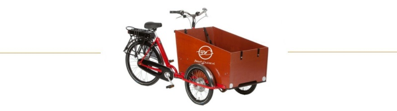 e-bakfiets beach cruiser