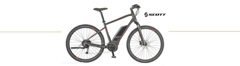elektrische mountainbike scott