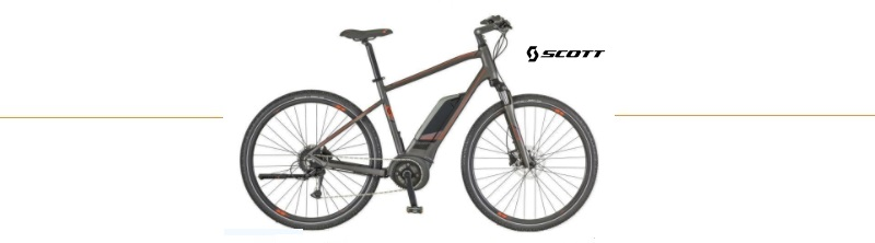 elektrische mountainbike scott