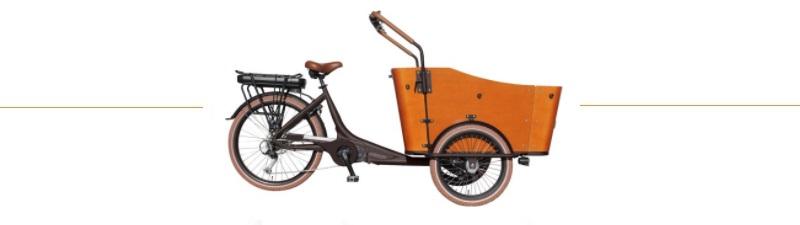 vogue elektrische bakfiets e-cargo