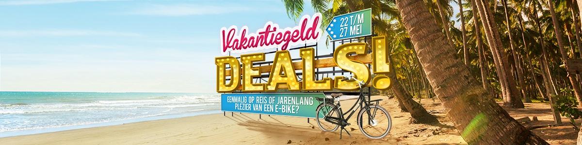 fietsenwinkel vakantiegeld deals 2018