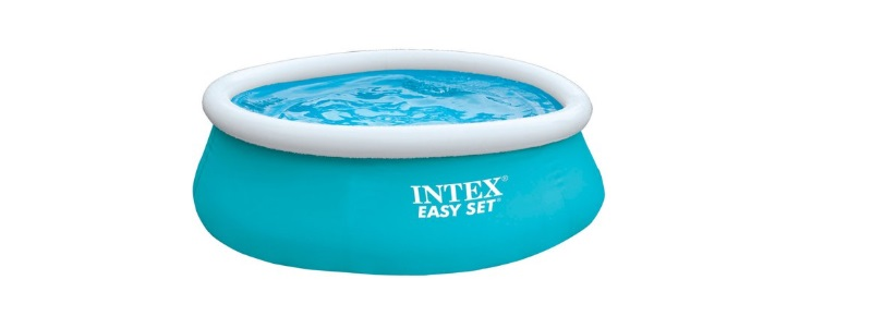 intex easy set outlet blauw zwembad
