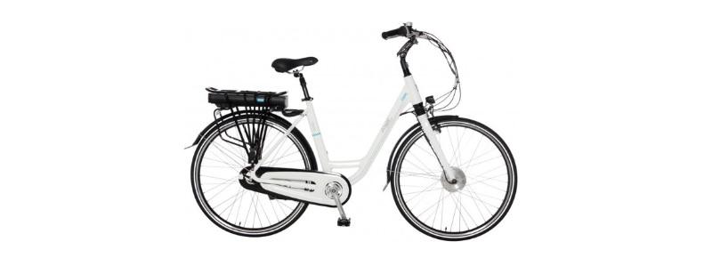 elektrische fiets classic 3 speed nexus shimano wit