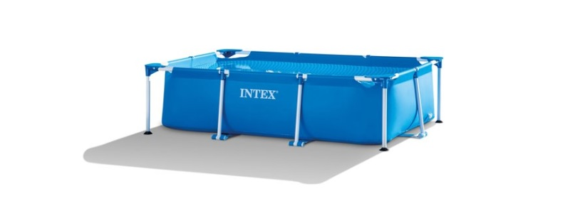 intex family frame opzetzwembad langwerpig 220x150x60cm