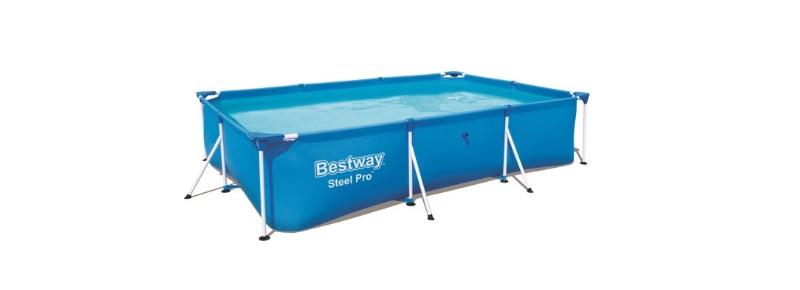 bestway steel pro 300x201x66cm blauw opzetzwembad