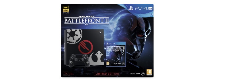 sony playstation 4 pro star wars battlefront ii deluxe edition 1tb ps4
