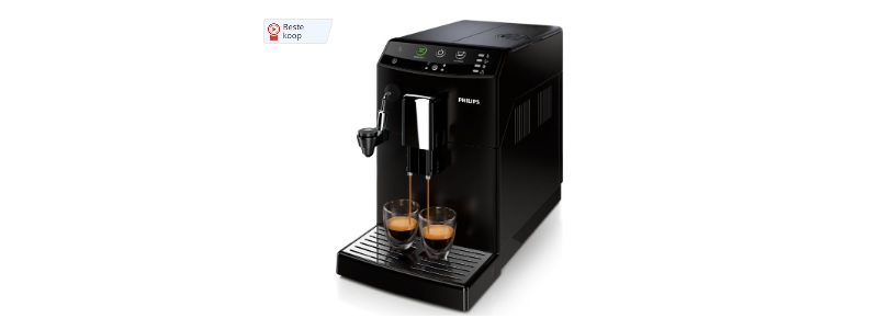 espressomachine zwart philips 3000 serie hd8824-01