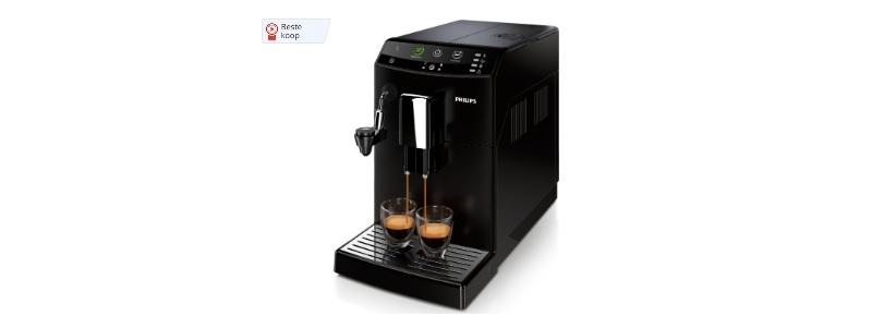 espressomachine zwart philips 3000 serie hd8824-01