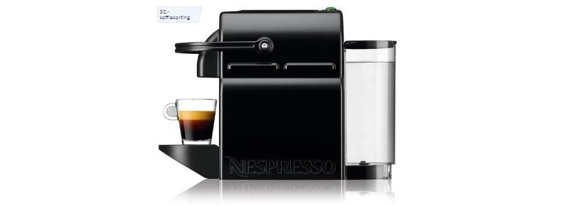 nespresso koffiecupmachine zwart magimix inissia m105