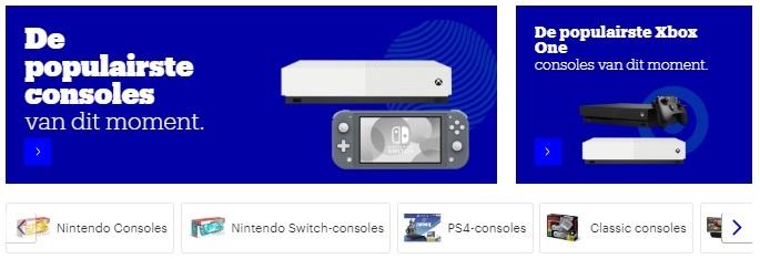 de populairste consoles voor thuis