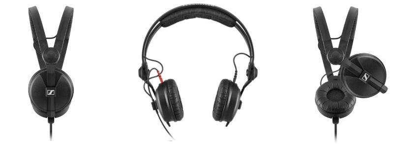 sennheiser hd 25-1 ii zwarte koptelefoon